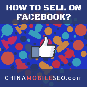 How to sell on Facebook?