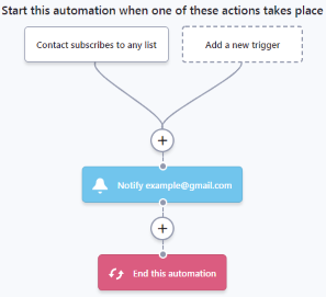 Automation workflow (example)