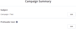 Campaign summary (ActiveCampaign)